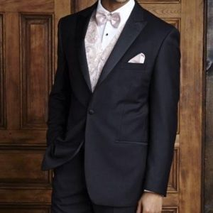 Peak Lapel Used Tuxedo Coat